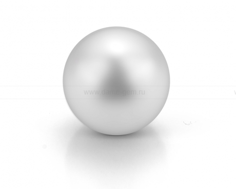 Жемчужина белая морская Австралийская 12,6-12,9 мм. Класс высокий АА+. Артикул 9806