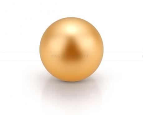 Жемчужина золотая морская Австралийская 13-13,5 мм. Класс наивысший ААА. Артикул 9816