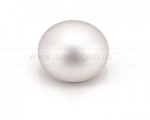 Жемчужина сплющенная белая 13-14 мм. Класс наивысший ААА. Артикул 9839