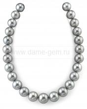 Колье (ожерелье) из Таитянского морского жемчуга. Артикул 9872